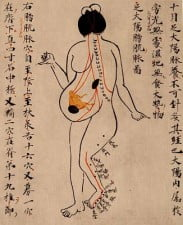 Image: Ancient Chinese Acupuncture Text