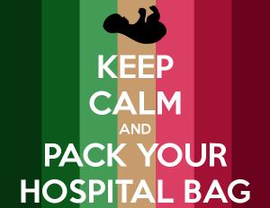 packing list hospital labour bag