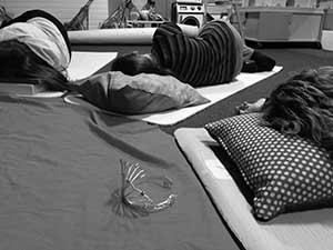 pregnancy yoga Reading relaxation